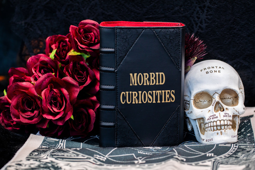 Morbid Curiosities Book Clutch & Crossbody