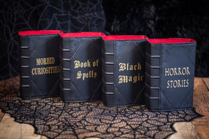 Black Magic Book Clutch & Crossbody