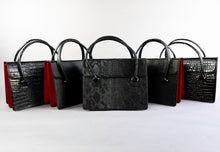 Load image into Gallery viewer, Black Skull Satchel