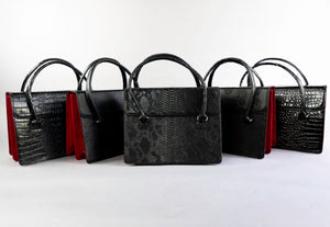 Black Skull Satchel