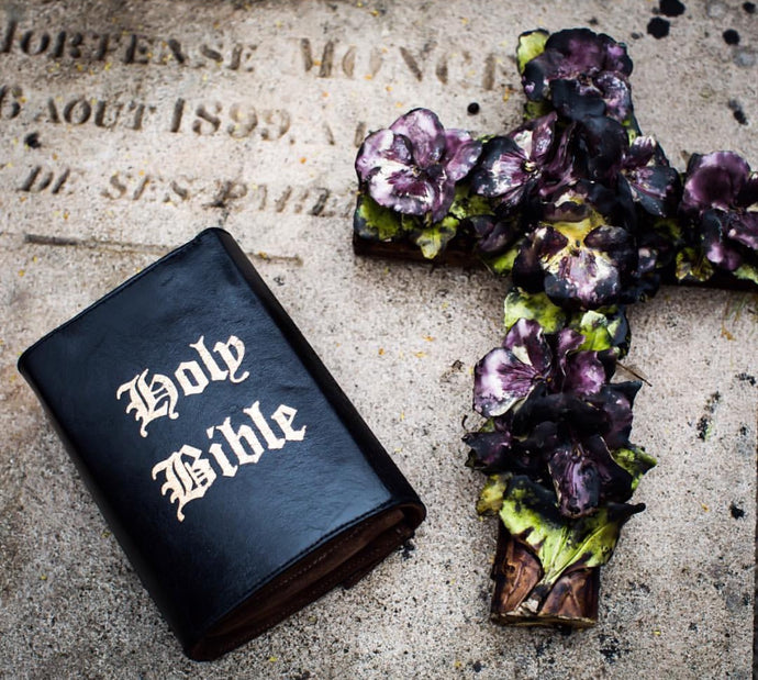 Holy Bible Book Clutch & Crossbody