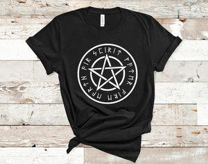 Wiccan Pentacle T-Shirt
