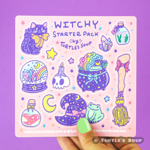 Witchy Starter Sticker Pack