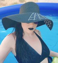 Load image into Gallery viewer, Widow Floppy Sun Hat - Rebel Love