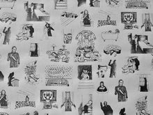Load image into Gallery viewer, Wrapping Paper - Horror Movie Classics - White