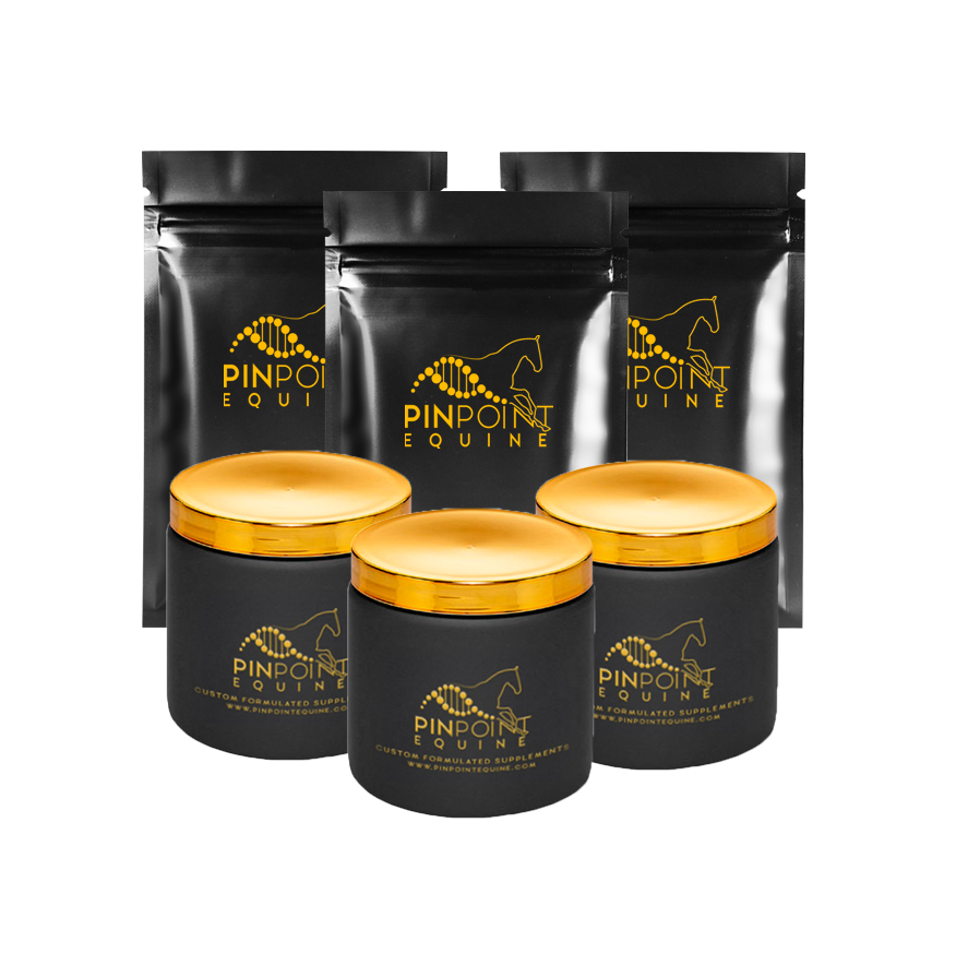 Equine Plant Based Custom Supplement (3 month)