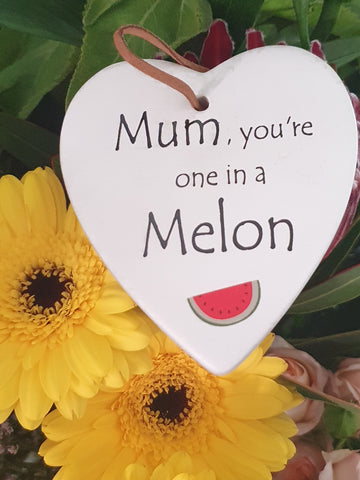 Ceramic tag - Mum, you're one in a million