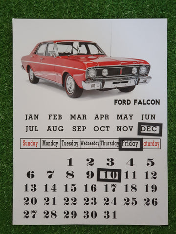 Perpetual Calendar - Ford PCF