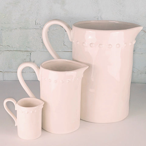 Ivory House Jug - MEDIUM