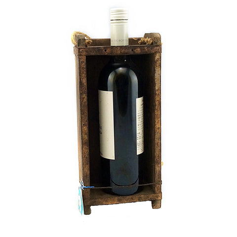 Brick Mould Wine Bottle Holder