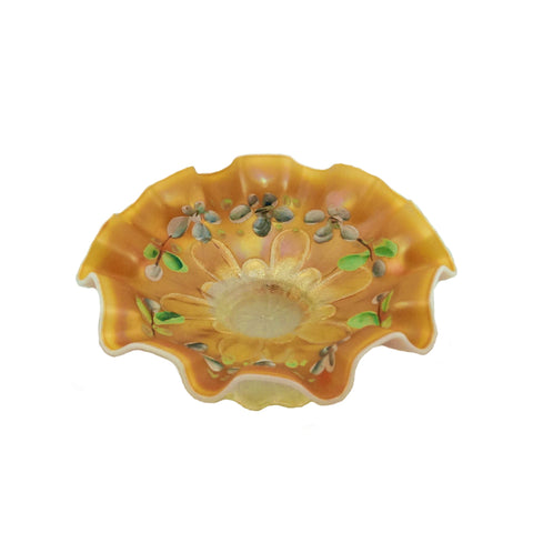 Carnival Glass serving dish
