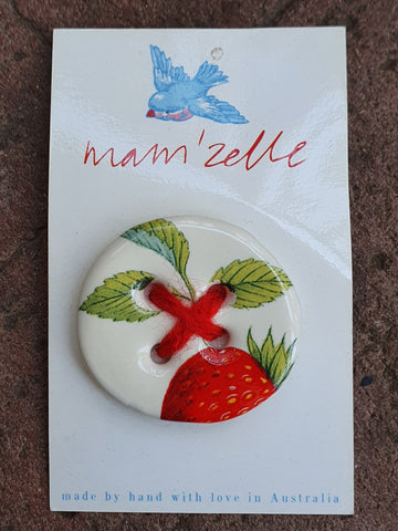 Mam'Zelle Ceramic Button #6