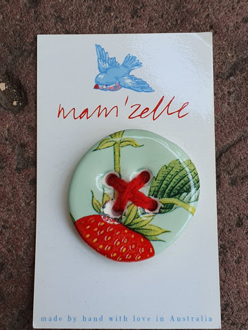 Mam'Zelle Ceramic Button #5