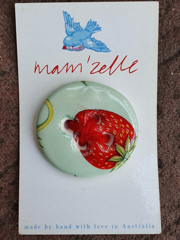 Mam'Zelle Ceramic Button #4