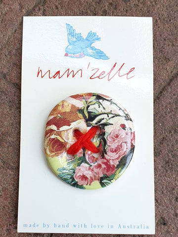Mam'Zelle Ceramic Button #2
