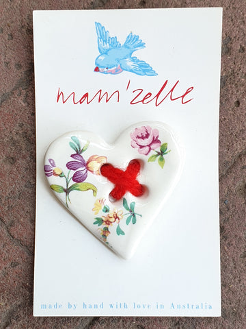 Mam'Zelle Ceramic Button #1