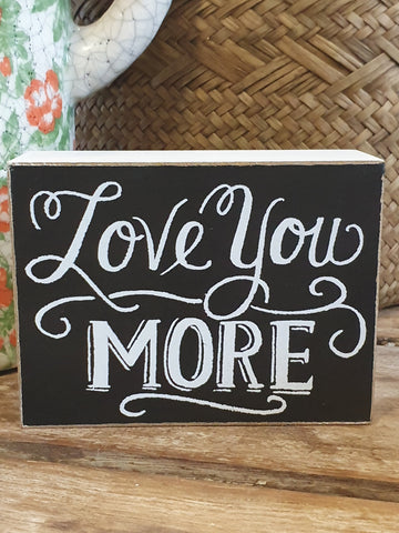 Sign - Love You More SLYM20 *