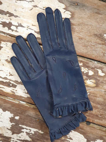 SALE Leather gloves