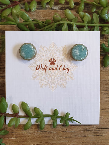 Wolf & Clay Earrings #14