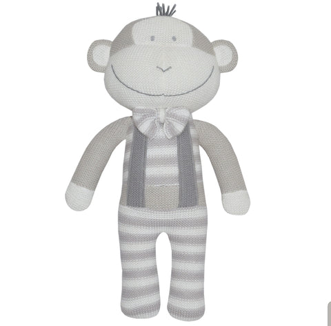 Knitted Monkey Toy KMT