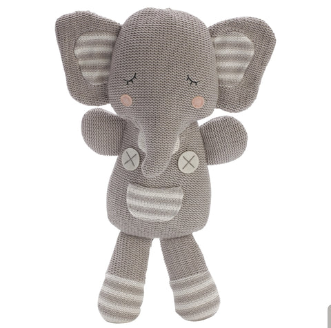 Knitted Elephant Toy * KET