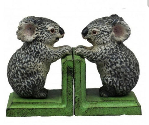 Cast Iron Bookends - Koala BEK20