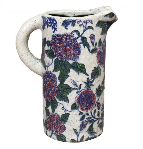 ST20 Patterned ceramic jug