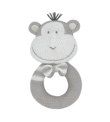 Knitted rattle Max the monkey KRM *