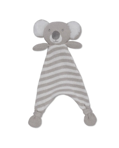 Kevin the Koala knitted security blanket
