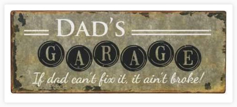 SIGN Dad's Garage SDG20