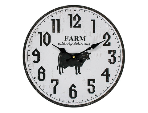 Clock - Farm cow CFC20 *