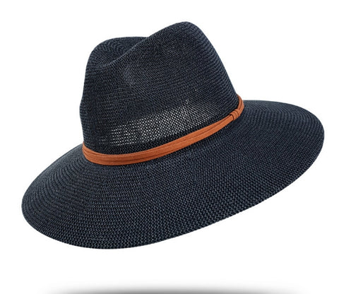Hat - Posy Navy HD916