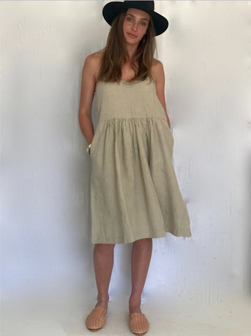 The Alice Dress - Natural