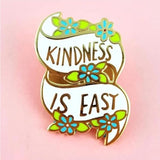 Jubly-Umph Lapel Pin - Kindness is Easy