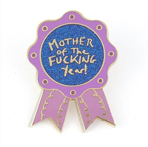 Jubly-Umph Lapel Pin - Mother of the f@*king year