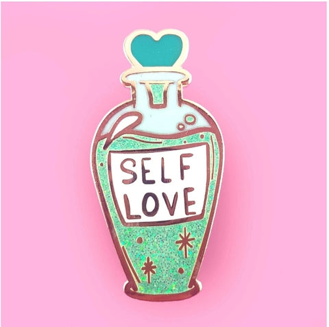 Jubly-Umph Lapel Pin - Self love tonic