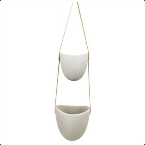 Pot - Hanging double planter PHDP *