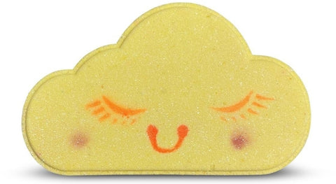 Bath Bomb Yellow rainbow cloud  Bath Bomb