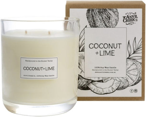 Anvil Creek Candle - Coconut & Lime ACCL