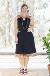 Melaleuca Dress - Waves in Brown