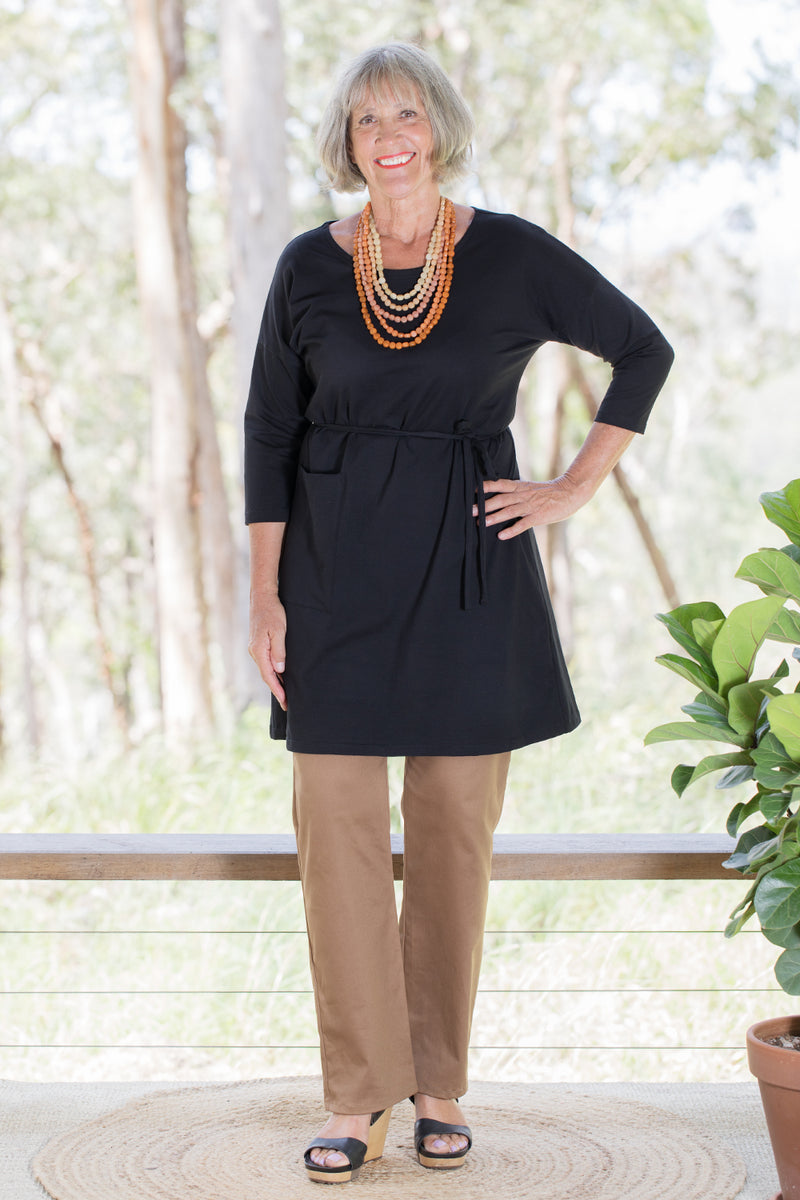 Ziggy Tunic - Black
