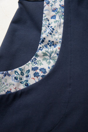 Branch Dress - Navy Cord Floral