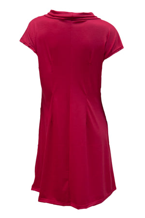 Emerge Tunic - Red Merino (12,16)