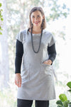 Emerge Tunic - Grey Marle Merino