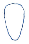 Lady Long Necklace - Denim Blue