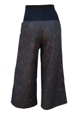 Sidewalk Pants Cropped - Sketched in Chocolate (8)