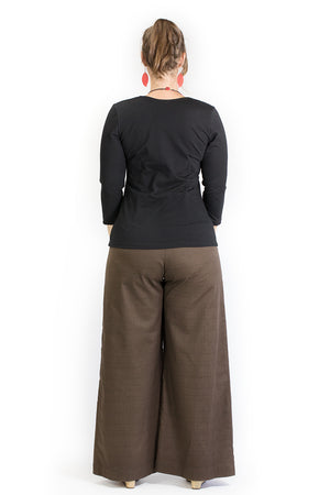Sidewalk Pants - Pecan Cotton Dobby
