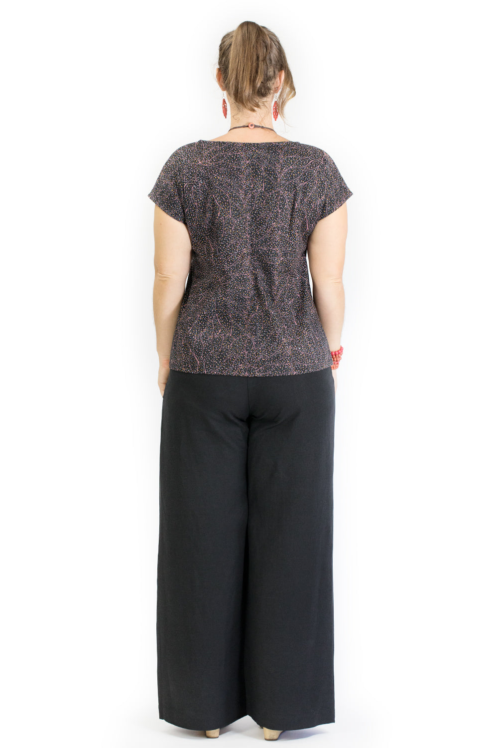 Verge Pants - Black Linen/Viscose