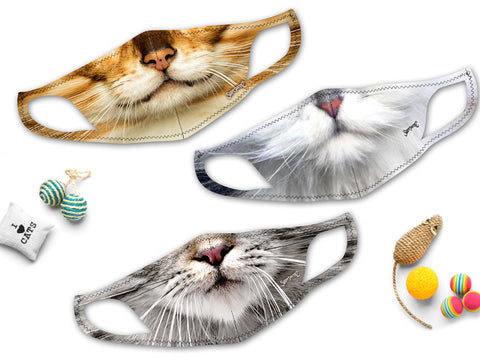 Cat Masks | Cool and Stretchy