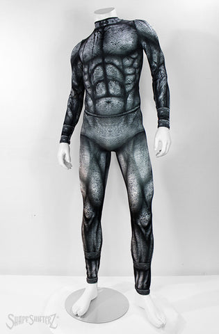 Men's costume gargoyle bodysuit dance wear onesie onezie